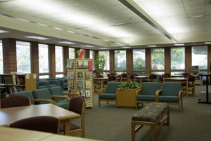 Rolling Meadows Library : The rolling meadows library is a community center for learning, culture, and recreation.